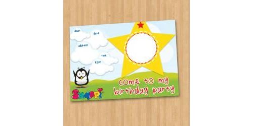 Snappi Party Invitation - Unisex